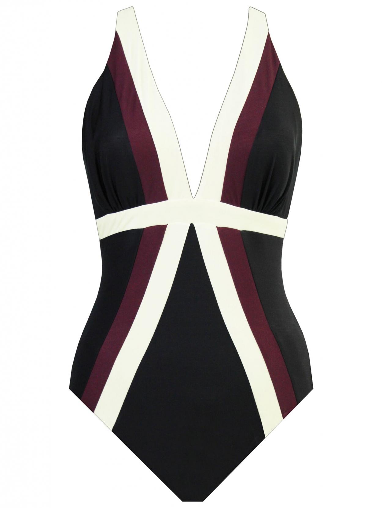 Slankmakend Badpak.Miraclesuit Spectra Trilogy Control Fashion Corrigerend Badpak