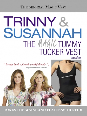 Tummy Tucker Vest - Plus Sizes by Cette