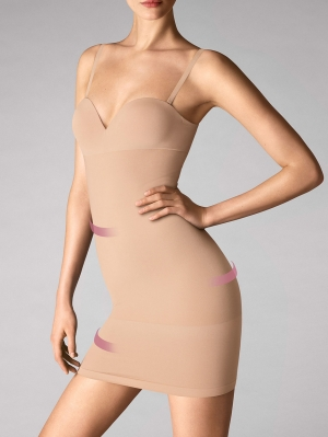 Opaque Natural Forming Dress