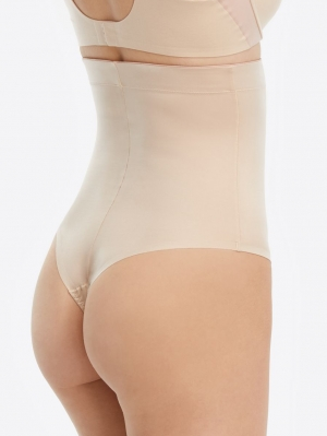 Suit Your Fancy High-Waisted Thong