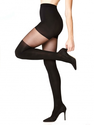 Two Color Shaping Tights