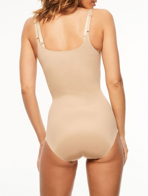 Basic Shaping Open Bust Bodysuit