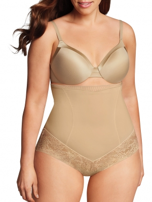 Curvy Firm Foundations Hi-Waist Brief